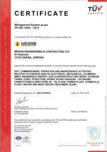 EN ISO 14001 : 2015